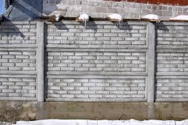 Divatos a betonkerítés